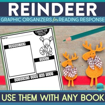 REINDEER | Graphic Organizers for Reading | Reading Graphic Organizers