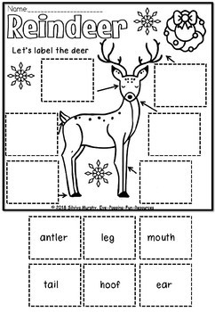 REINDEER LABEL IT(freebie)