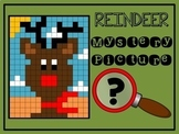 Color by Number Mystery Picture REINDEER - Number Recognition