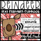 REINDEER Text Features Flapbook