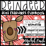 REINDEER Text Features Flapbook
