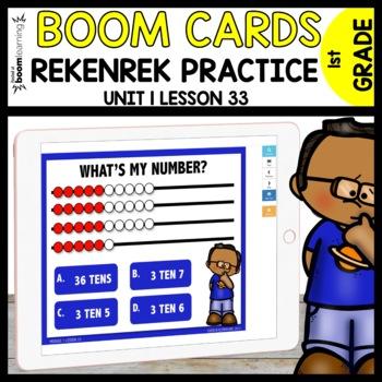 REKENREK Practice BOOM CARDS | Module 1 Lesson 33