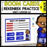 REKENREK Practice BOOM CARDS   Module 1 Lesson 33