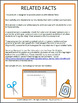 TEI Technology Enhanced Item Printable Practice RELATED FACTS VA SOL 3.2