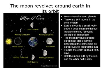 RELATIONSHIP OF THE MOON TO EARTH