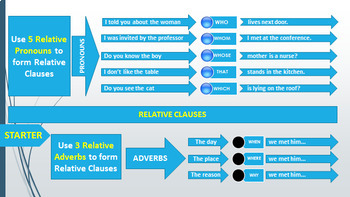 RELATIVE CLAUSE: HANDOUT