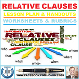 RELATIVE CLAUSES: LESSON AND RESOURCES