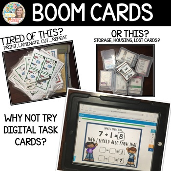 RELATIVE FACTS BOOM CARDS [LESSON 32]