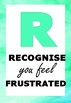 RELAX Classroom Strategy Posters - supporting students with frustration