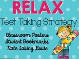 RELAX Test Taking Strategy {Classroom Set}