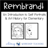 REMBRANDT PORTRAITS ART Lesson (from Art History for Elementary Bundle)