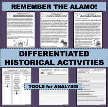 REMEMBER THE ALAMO Eyewitness Accounts & Reading Comprehension