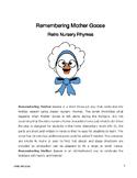 REMEMBERING MOTHER GOOSE ~ Retro Nursery Rhymes!