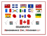REMEMBRANCE DAY, CANADA: POSTER/ with free acrostic activity