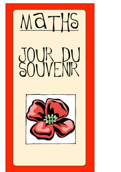 REMEMBRANCE DAY MATH - FRENCH