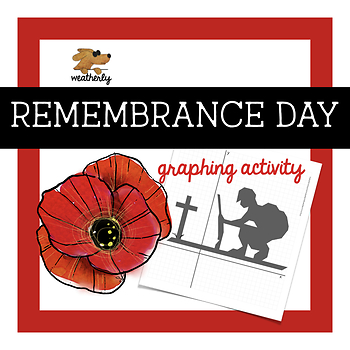 REMEMBRANCE DAY - graphing activity