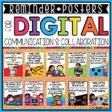 REMINDER POSTERS FOR DIGITAL COMMUNICATION AND COLLABORATION