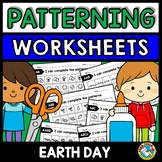 REPEATING PATTERNS WORKSHEETS (EARTH DAY ACTIVITY PRIMARY,