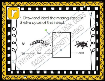 REPRODUCTION Task Cards for Middle and High School Biology Life Science