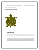 REPTILES: A CONTENT KNOWLEDGE PROJECT