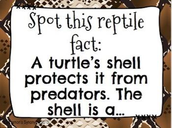 REPTILES Spot It & Steal It