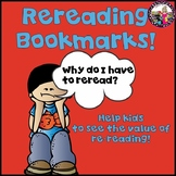 REREADING Bookmark!  Builds Many Skills!