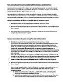 Resident Educator Summative Asessment task 2 and task 4