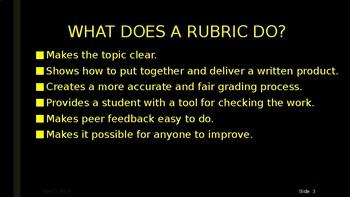 RESCUE THE RUBRIC