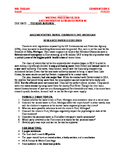 RESEARCH ARGUMENTATIVE PAPER: Flint, MI Water Crisis