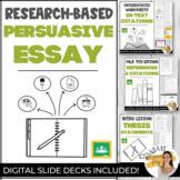 RESEARCH-BASED ARGUMENTATIVE ESSAY BUNDLE Digital Handouts