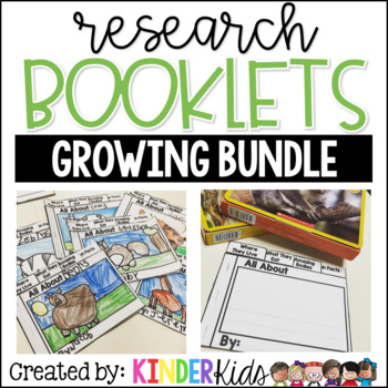 RESEARCH and WRITING Booklets [Growing BUNDLE]