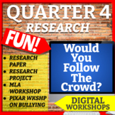 RESEARCH QUARTER 4 ELA BUNDLE