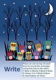 RESEARCH SKILLS POSTER WISE OWLS WRITE 3 of 4