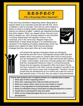 Life Skills, RESPECT, Respecting Others, Social Skills,
