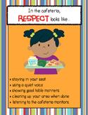 RESPECT looks like... School Setting Posters