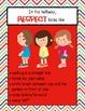 """RESPECT looks like..."" School Setting Posters"