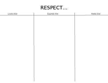 RESPECT... looks like, sounds like, feels like