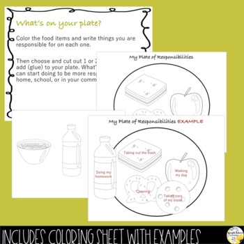RESPONSIBILITY PowerPoint Guidance Lesson