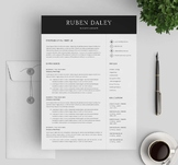 Teacher Resume Template For MS Word | CV Template