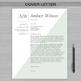 RESUME TEACHER Template For MS Word | + Educator Resume Writing Guide  | Amber