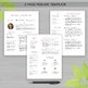 RESUME Template TEACHER with Photo For MS Word | + Educato