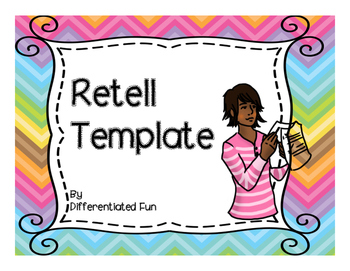 RETELL GRAPHIC ORGANIZER AND PARAGRAPH TEMPLATES
