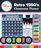 Retro '50s Classroom Theme