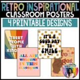 RETRO Inspirational Classroom Posters