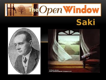 """REVIEW- ANALYSIS OF """"The Open Window"""" by Saki"""