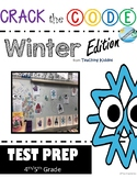 TEST PREP REVIEW Game- Crack the Code ( comprehension, math, and more!)