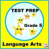 TEST PREP Language Arts Grade 5 ... Practice Worksheets Pl
