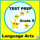 TEST PREP Language Arts Grade 5 REVIEW... Practice Worksheets Plus Digital BONUS