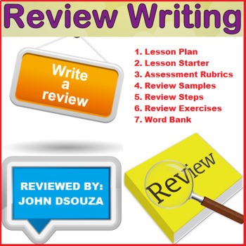 REVIEW WRITING: LESSON & RESOURCES