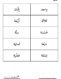REVIEWING NUMBERS -30 (ARABIC)